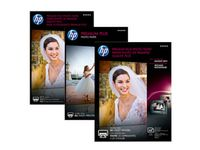 HP Premium Plus Glossy Photo Paper white 300g/m2 100x150mm 50 sheets 1-pack (CR695A)