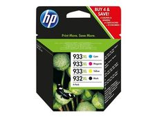 HP 932XL/ 933XL ink cartridge black and tri-colour high capacity 1-pack Blister multi tag