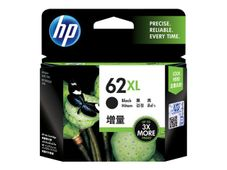 HP 62XL ink cartridge black high capacity 1-pack Blister multi tag