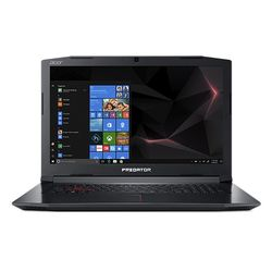 "ACER Predator Helios 300 17,3"" FHD matt GeForce GTX1050Ti, Core i7-8750H, 8GB RAM,256GB PCIe SSD,1TB HDD, Windows 10 Home (NH.Q3EED.011)"