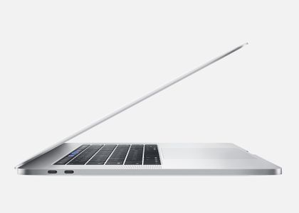 "APPLE MacBook Pro 15"" Retina m/Touch Bar Silver, 6-core i7 2.6GHz, 16GB RAM, 256GB SSD, Radeon Pro 555X 4GB (MV922H/A)"