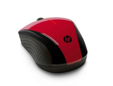 HP X3000 RED WIRELESS MOUSE                                  IN PERP (N4G65AA#ABB)