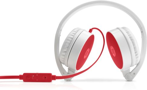 HP 2800 Stereo C Red Headset (W1Y21AA)