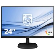 PHILIPS 243V7QDSB 23.8inch v-Line Monitor FlickerFree LowBlue Mode