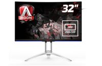 AOC AG322QCX 32IN MVA BLACK 2560X1440 16:9 144HZ 4MS GTG IN (AG322QCX)