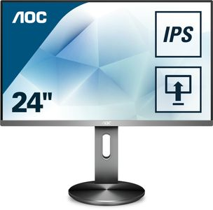 "AOC 27"" 1920x1080 IPS 4 ms GtG HAS DP/H (I2790PQU/BT)"