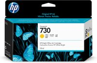 HP 730 130-ML YELLOW INK CARTRIDGE SUPL (P2V64A)