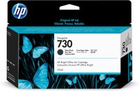 HP 730 130-ML MATTE BLACK INK CRTG SUPL (P2V65A)