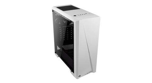 AEROCOOL Cyclon, Midi-Tower,  PC, ATX, Micro-ATX, Mini-ITX,  Hvid, 0,5 mm, Front (ACCM-PV10012.21)