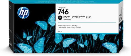 HP 746 300-ml Photo Black Ink Cartridge (P2V82A)