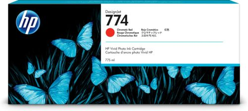 HP 774 775-ml Chromatic Red Ink Crtg (P2W02A)