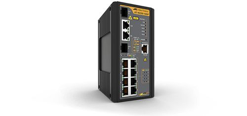 Allied Telesis IS Series AT-IS230-10GP Industrial PoE+ Switch (AT-IS230-10GP-80)