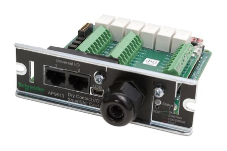 APC Dry Contact I/O SmartSlot Card (AP9613)