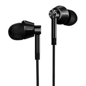 1MORE Dual Driver In-Ear Headphones Black (E1017-Black)