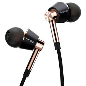 1MORE Triple-Driver In-Ear Headphones Gold (E1001-Gold)