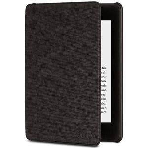 AMAZON Kindle Cover Black Leather Paperwhite 2018 (B079GH742Z)