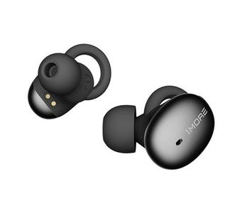 1MORE Stylish Truly Wireless Headphones (TWS) Black (E1026BT-Black)