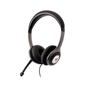 VIDEO SEVEN DELUXE USB HEADSET W/MIC ON CABLE CONTROL 1.8M CABLE      IN ACCS (HU521-2EP)
