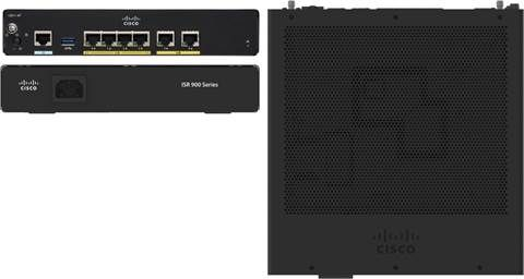 CISCO 900 Series Integrated Services Routers (C921-4P)