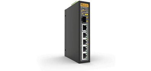 Allied Telesis UNMANAGED POE+ SWITCH 4X1000T POE+ PORTS AND 1 X 100/1000X SFP IN CPNT (AT-IS130-6GP-80)