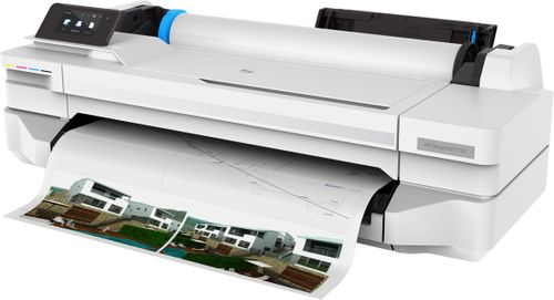 HP DesignJet T130 24-in Printer 2Y Warr (5ZY58A#B19)