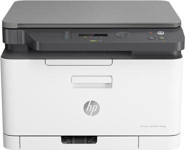 HP CL MFP 178NW / UP TO 18/4 PPM A4 USB2.0 ETHNET 600X600 2BITS   IN LASE (4ZB96A#B19)