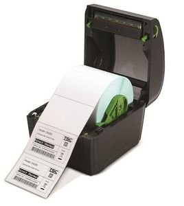TSC DA200 direct thermal label printer, 203 dpi, 5 ips, SD card slot for memory expansion (99-158A001-00LF)