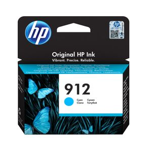 HP 912 Cyan Original Ink Cr (3YL77AE#BGY)