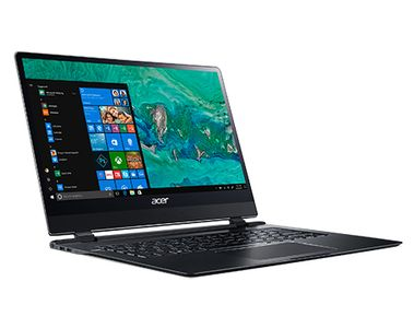 "ACER Swift 7 14"" FHD IPS Touch 8GB/ 256GB/ HD615/ i7-7Y75/ W10 (NX.GUHED.001)"