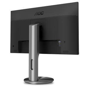 AOC Monitor U2790PQU 27'', panel IPS 4K UHD 3840x2160,  HDMI/DP, speakers (U2790Pqu)