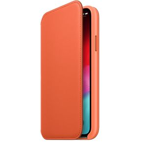 APPLE iPhone XS Leather Folio - Sunset (MVFC2ZM/A)