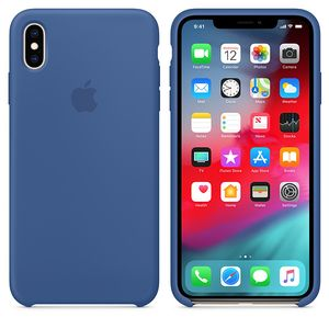 APPLE iPhone Xs Max Silicone Case Delft Blue (MVF62ZM/A)