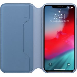 APPLE iPhone XS Max Leather Folio - Cornflower (MVFT2ZM/A)
