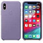 APPLE iPhone Xs Leather Case Lilac (MVFR2ZM/A)