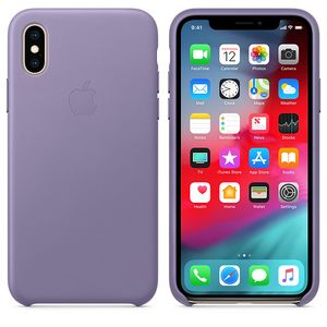 APPLE IPHONE XS LEATHER CASE LILAC-ZML (MVFR2ZM/A)