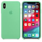APPLE iPhone XS Max Silicone Case - Spearmint (MVF82ZM/A)