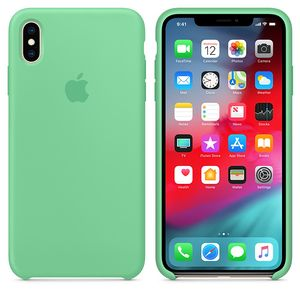 APPLE iPhone Xs Max Silicone Case Spearmint (MVF82ZM/A)
