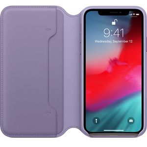 APPLE iPhone Xs Leather Folio Lilac (MVF92ZM/A)