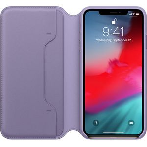 APPLE iPhone Xs Max Leather Folio Lilac (MVFV2ZM/A)