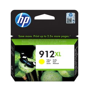 HP 912XL High Yield Yellow Ink (3YL83AE#301)