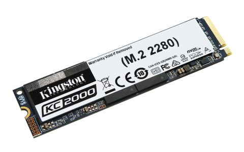 KINGSTON 500GB KC2000 M.2 2280 NVMe SSD (SKC2000M8/500G)