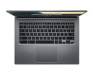 "ACER Chromebook 714 CB714-1W-591H - Core i5 8250U / 1.6 GHz - Chrome OS - 8 GB RAM - 64 GB eMMC - 14"" IPS 1920 x 1080 (Full HD) - UHD Graphics 620 - Wi-Fi 5, Bluetooth - stålgrå - kbd: Nordisk (NX.HAZED.007)"