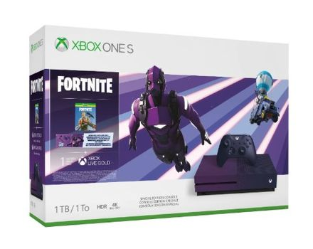 Microsoft Ms Xbox One S E3 Special Edition 1matching Controller Fortnite Battle Royale Legendary Outfit Epic 23c 00088 Mediamarkt P