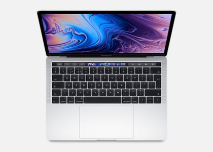 APPLE 13-inch MacBook Pro with Touch Bar: 2.4GHz quad-core 8th-generation Intel Core i5 processor,  512GB - Silver (MV9A2DK/A)