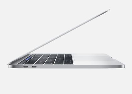 APPLE 13-inch MacBook Pro with Touch Bar  1.4GHz quad-core 8th-generation Intel Core i5 processor,  256GB - Silver (MUHR2DK/A)
