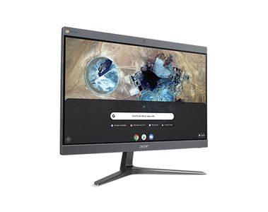 "ACER Chromebase CA24I2 - Allt-i-ett - 1 x Celeron 3867U / 1.8 GHz - RAM 4 GB - SSD 32 GB - HD Graphics 610 - GigE - WLAN: 802.11a/ b/ g/ n/ ac,  Bluetooth 4.2 - Chrome OS - skärm: LED 23.8"" 1920 x 1080 (Full HD (DQ.Z14MD.001)"
