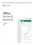 MS Office Home and Business 2019 EuroZone 1 License Medialess Win10 Mac (SE)