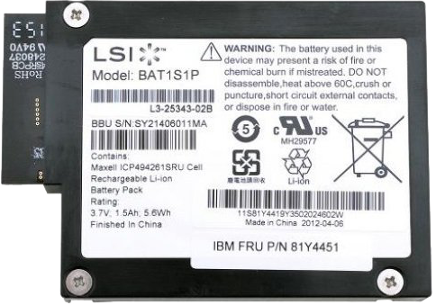 IBM U08 Battery (FRU81Y4451)