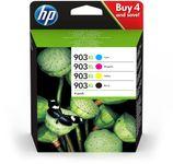 HP No903XL High Yield C/M/Y/K Ink Cartridge (3HZ51AE)