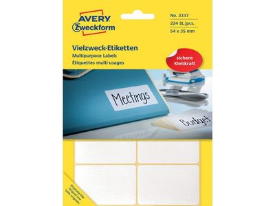 AVERY Labels White   (3337)
